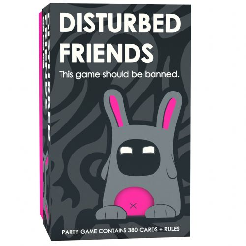 Genuine Disturbed Friends Question Cards Adults Party Game